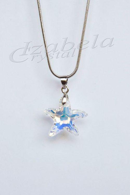kolie-swarovski-Sea Star